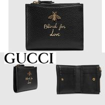 入手困難!GUCCI(グッチ) Animalier continental wallet