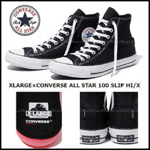 【人気コラボ】CONVERSE×XLARGE★ALL STAR 100 SLIP HI/X 限定