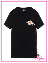 LOEWE CLOUDS AND STARSプリントTシャツ