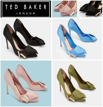 TED BAKER(テッドベーカー) パンプス 〓TED BAKER〓送料込みIINESリボンサテンパンプス