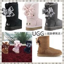 送料込◇UGG◇リボン交換可能/Customizable Bailey Bow Short