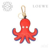 LOEWE★ロエベ Octopus Charm Red/Blue