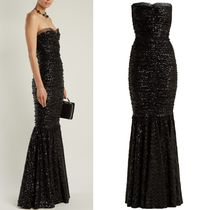 18-19AW DG1789 SEQUINED FISHTAIL GOWN