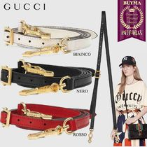 【正規品保証】GUCCI★18秋冬★SYLVIE DETACHABLE LEATHER STRAP