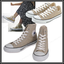 【送料無料】CONVERSE  CANVAS ALLSTAR COLORS ベージュ LO/HI