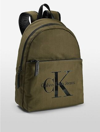 即発 ラスト1点 Calvin Klein  REISSUE CANVAS BACKPACK