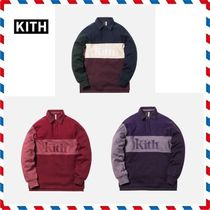 18AW新作◆KITH NYC◆COLOR BLOCKED RUGBY トレーナー