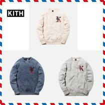 18AW新作◆KITH NYC◆PATCHWORK WILLIAMS CREWNECK