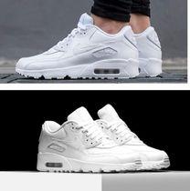 大人もOK!(22‐25㎝)NIKE Air Max 90 LTR GS WHITE 833412-100