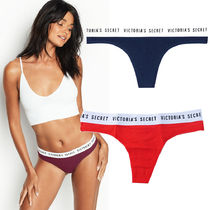 即納Victoria's secret Logo Thong Panty 376586