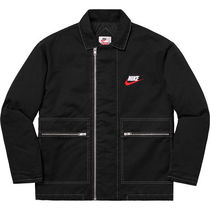 Supreme/Nike Double Zip Quilted Work Jacket