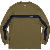 Supreme Panel Stripe Waffle Thermal