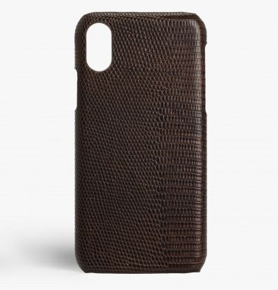 THE CASE FACTORY スマホケース・テックアクセサリー 関税送料込☆THE CASEFACTORY☆IPHONE XR LIZARD BROWN(2)
