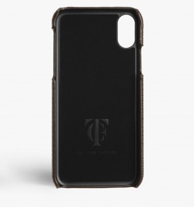 THE CASE FACTORY スマホケース・テックアクセサリー 関税送料込☆THE CASEFACTORY☆IPHONE XR LIZARD BROWN(3)