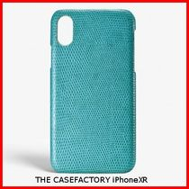 関税送料込☆THE CASEFACTORY☆IPHONE XR LIZARD MALDIVE
