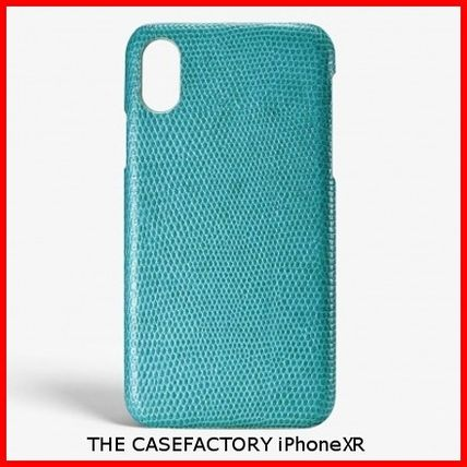 THE CASE FACTORY iPhone・スマホケース 関税送料込☆THE CASEFACTORY☆IPHONE XR LIZARD MALDIVE