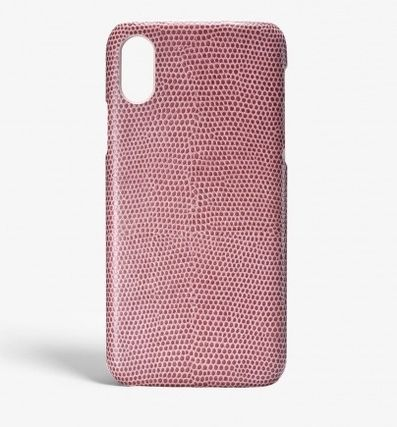 THE CASE FACTORY スマホケース・テックアクセサリー 関税送料込☆THE CASEFACTORY☆IPHONE XR LIZARD ROSA ANTICO(2)