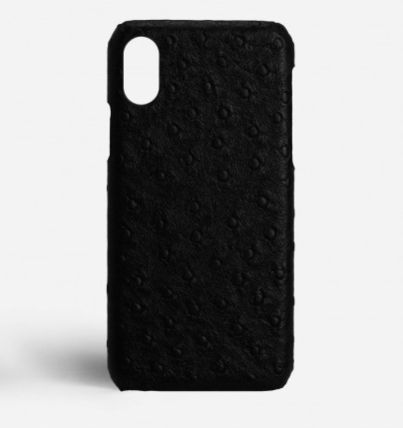 THE CASE FACTORY スマホケース・テックアクセサリー 関税送料込☆THE CASEFACTORY☆IPHONE XR OSTRICH BLACK(2)