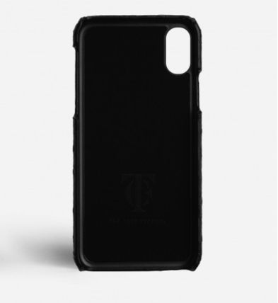 THE CASE FACTORY スマホケース・テックアクセサリー 関税送料込☆THE CASEFACTORY☆IPHONE XR OSTRICH BLACK(3)