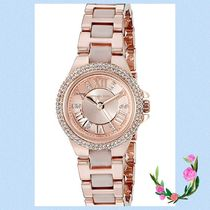 Michael Kors☆Ladies Camille Rose Gold Plated Watch★セール