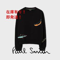 """PS Paul Smith """"Artful Objects"""" プリント スウェット"""