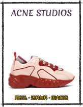 Acneアクネ18-19AW【関税込】Manhattan leather Pinkスニーカー
