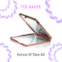 TED BAKER(テッドベーカー) メイク小物その他 TED BAKER☆Fairest Of Then All コンパクトミラー ローズ☆上品
