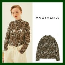 ANOTHER A(アナザーエー) ブラウス・シャツ 日本未入荷!【ANOTHER A】Leopard T-shirt (BROWN)