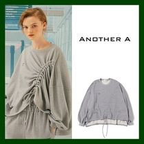 ANOTHER A(アナザーエー) スウェット・トレーナー 日本未入荷!【ANOTHER A】String Tunnel Pullover (GREY)