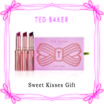 TED BAKER(テッドベーカー) リップグロス・口紅 TED BAKER☆Sweet Kisses Gift リップギフト3本セット☆ ギフト
