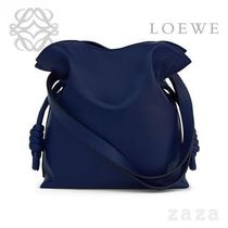 LOEWE★ロエベ Flamenco Knot Small Bag Marine