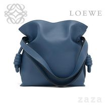 LOEWE★ロエベ Flamenco Knot Small Bag Varsity Blue
