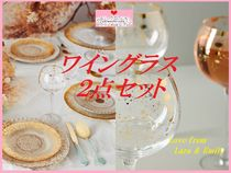 19AW☆最安値保証*関送料込【Anthro】Celine Wine Glasses2点SET