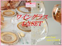19AW☆最安値保証*関送料込【Anthro】Celine Wine Glasses4点SET