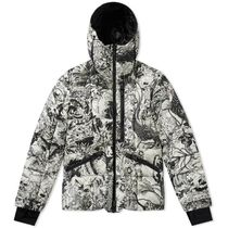モンクレール Moncler Grenoble Coulmes Print Jacket
