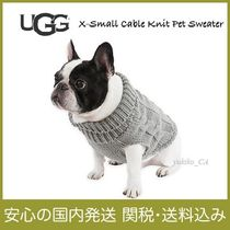 【国内発送】X-Small Cable Knit Pet Sweaterセール