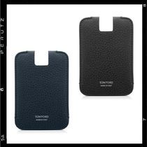 【TOM FORD】 Grained Leather Push Out Card Holder