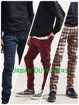 Urban Outfitters(アーバンアウトフィッターズ) パンツ Urban Outfitters★タータンスキニーパンツ ★3色