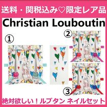 CHRISTIAN LOUBOUTIN Loubitag Nail Collection Two-Piece Set