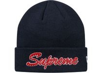 Supreme  New Era  Script Beanie 18 FW  WEEK 0