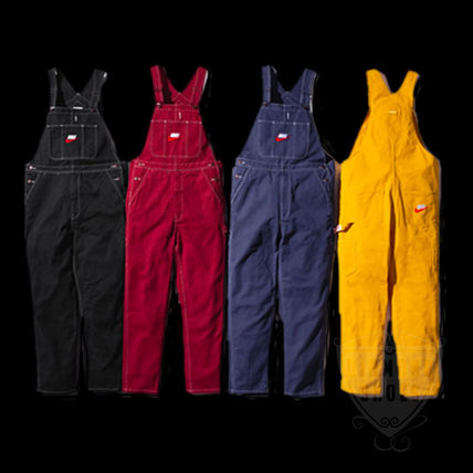 Supreme トップスその他 FW18 SUPREME NIKE COTTON TWILL OVERALLS 全色 送料無料 WEEK6