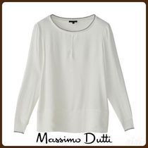 MassimoDutti♪T-SHIRT WITH CONTRASTING TRIMS