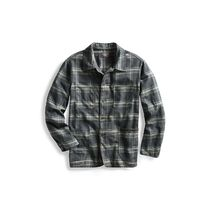この秋マスト! Plaid Cotton Shirt Jacket