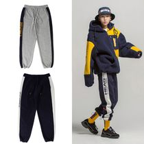 HEAD(ヘッド) ボトムスその他 コラボ [HEAD BY ROMANTIC CROWN] Side Logo Fleece Track Pants