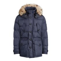 この秋マスト! RLX Faux Fur-Trim Down Parka