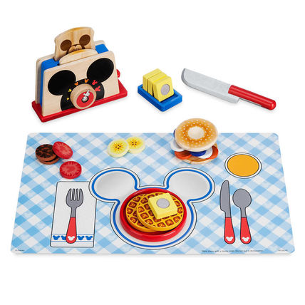 Mickey Mouse Clubhouse Deluxe Wooden Toaster Set by Melissa