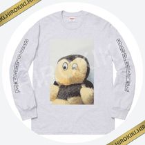 18AW /Supreme Mike Kelley Ahh…Youth! L/S Tee ロンT Ash Grey