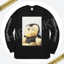 18AW /Supreme Mike Kelley Ahh…Youth! L/S Tee ロンT Black 黒