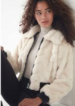 Urban Outfitters☆Francine Faux Fur Bomber Jacket