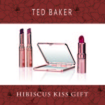 TED BAKER(テッドベーカー) リップグロス・口紅 TED BAKER☆ Hibiscus Kiss Gift リップグロス &ミラーセット☆